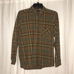 Volcom Plaid Flannel